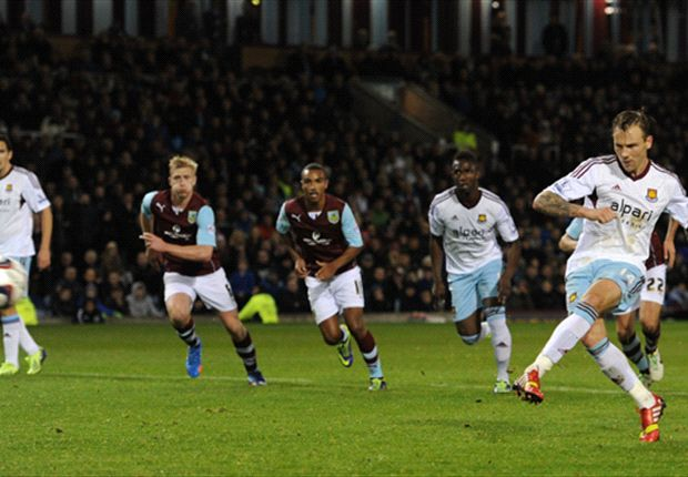 Burnley 0-2 West Ham: Taylor & Collison spot on to send Hammers through