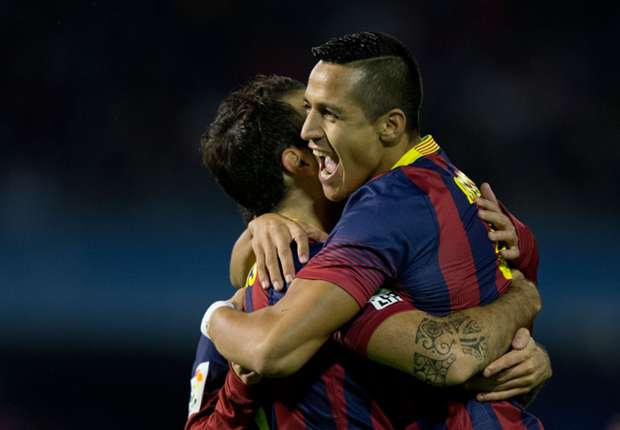 Alexis will be a star for Barcelona, says Fabregas