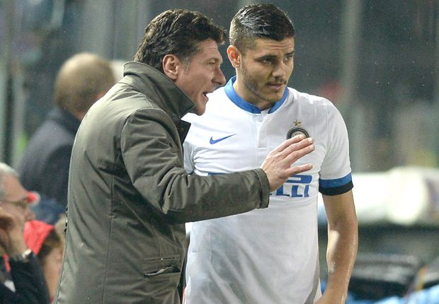 Mazzarri: Icardi needs to be more like Zanetti and Milito