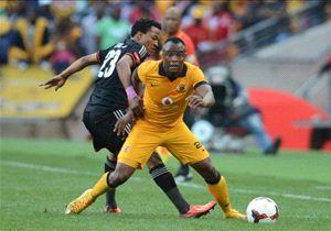 Tsepo Masilela eliminates Tlou Segolela in a Soweto Derby match