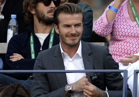 LeBron James eager to team up with Beckham in Miami