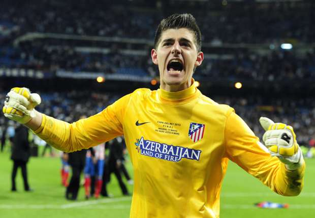 Courtois: My future's in Chelsea's hands