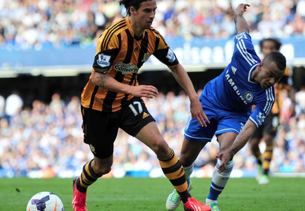 Hull City's George Boyd.