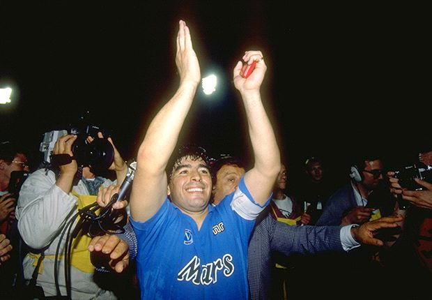 Maradona asks De Laurentiis for birthday gift