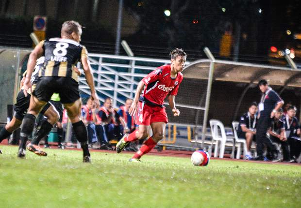The full-back turned makeshift attacker scored the only goal of the game.