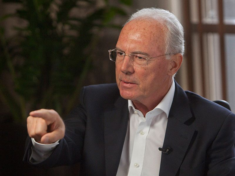 Beckenbauer reveals plans for all-star world 11