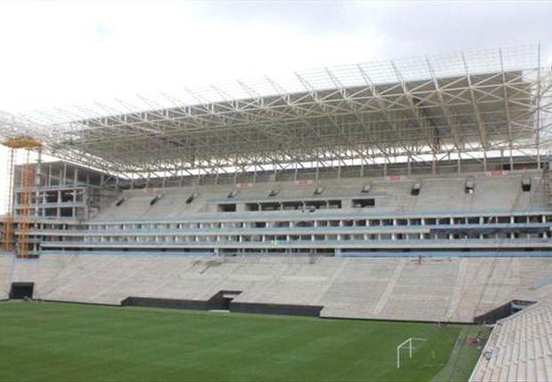 Die Arena Corinthians wird das Eröffnungsspiel beherbergen