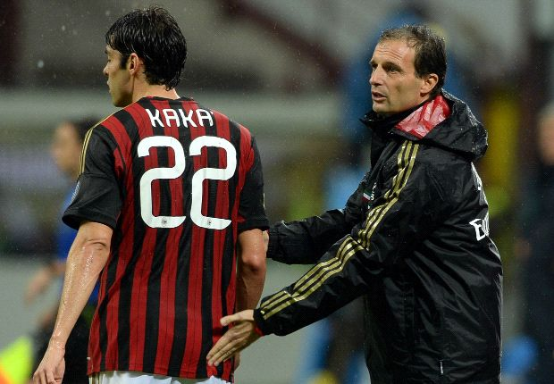 Allegri: Kaka's out to prove champion status