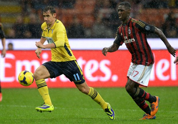 AC Milan 1-1 Lazio: Ciani denies hosts victory