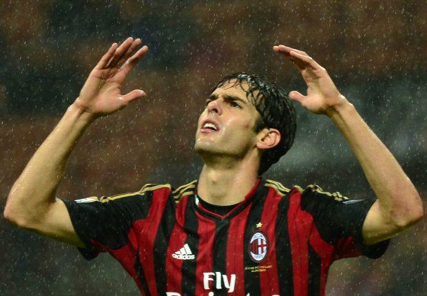 Kaka brachte Milan zunächst mit einem Traumtor in Führung
