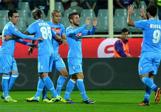 Napoli superó a Fiorentina