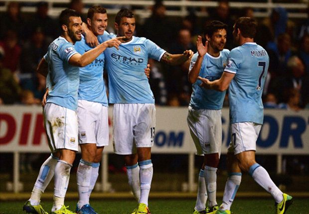 Newcastle 0-2 Manchester City (AET): Negredo & Dzeko ensure progress for Pellegrini