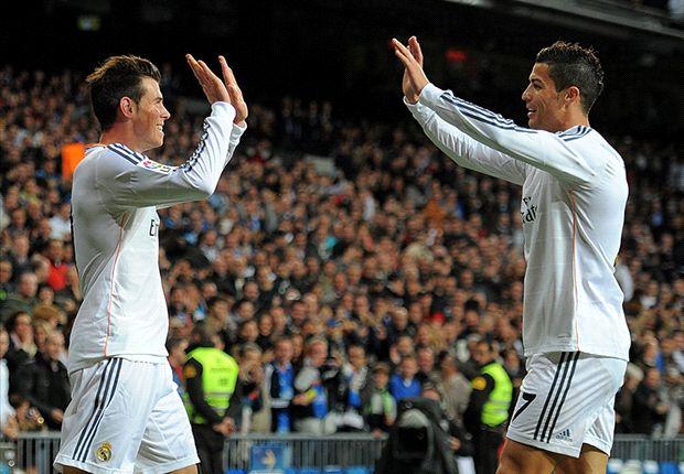 Ancelotti lauds Ronaldo-Bale partnership
