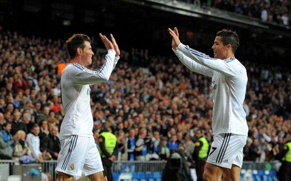 Cristiano Ronaldo Gareth Bale Real Madrid Sevilla Liga BBVA 10302013