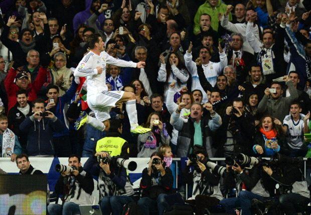 Gareth Bale explotó con dos goles y dos asistencias