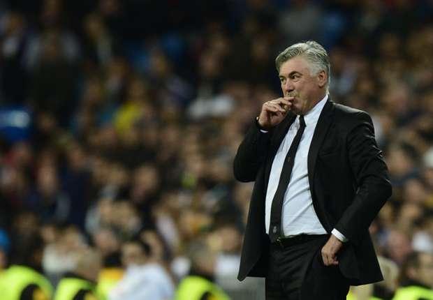 Ancelotti weet dat Real Madrid dichtbij de achtste finales is.