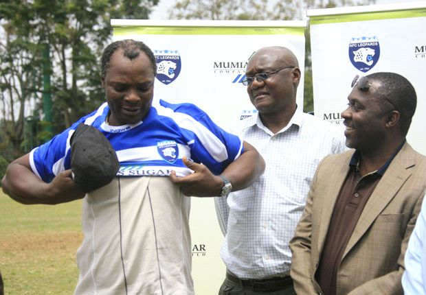 AFC Leopards' confirm coach Nandwa on permanent basis