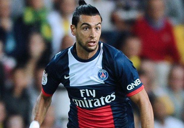 Pastore jugó siete partidos y no convirtió goles en esta temporada en Francia.