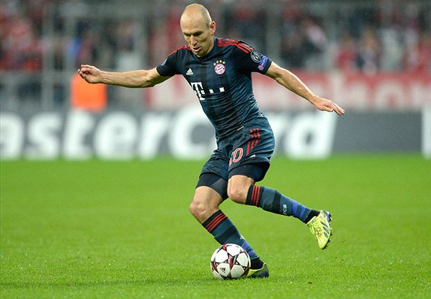 Bayern without Robben for Viktoria Plzen clash