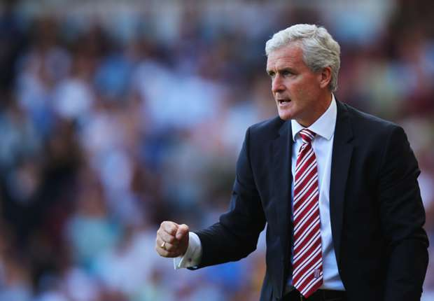 Stoke boss Hughes thrilled by dramatic Swansea draw