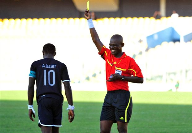Ghana referee S.B Bortey