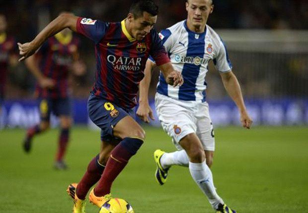 Barcelona 1-0 Espanyol: Sanchez spares Blaugrana blushes