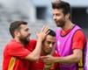 Pique stands up for Spain team-mate Pedro