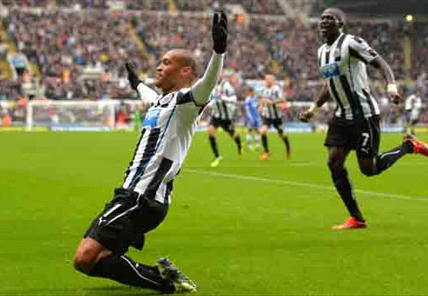 Pardew hails inspirational Gouffran after win over Chelsea