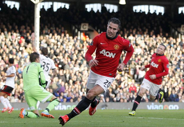 Fulham 1-3 Manchester United: Rooney & Van Persie heap more misery on struggling Jol