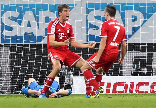 Haben den Rekord des HSV eingestellt: Bayern München