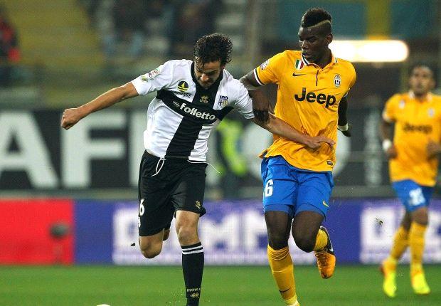 Paul Pogba volvió a convertir para darle un nuevo triunfo a Juventus, esta vez sobre Parma.