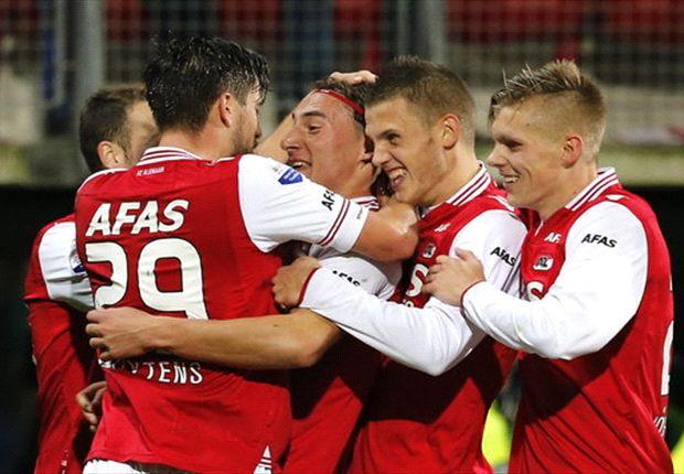 AZ wil via Feyenoord bovenin mee blijven doen