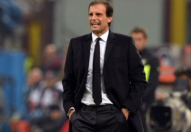 Alles andere als zufrieden: Massimiliano Allegri