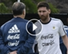 VÍDEO: Martino defiende a Messi