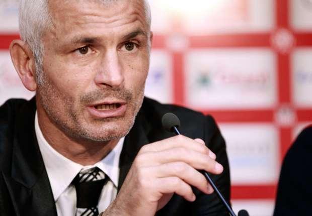 Ajaccio coach Fabrizio Ravanelli