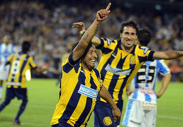 Encina marcó dos goles en la remontada de Central.