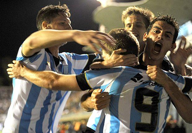 Racing le ganó a Godoy Cruz por 2-0