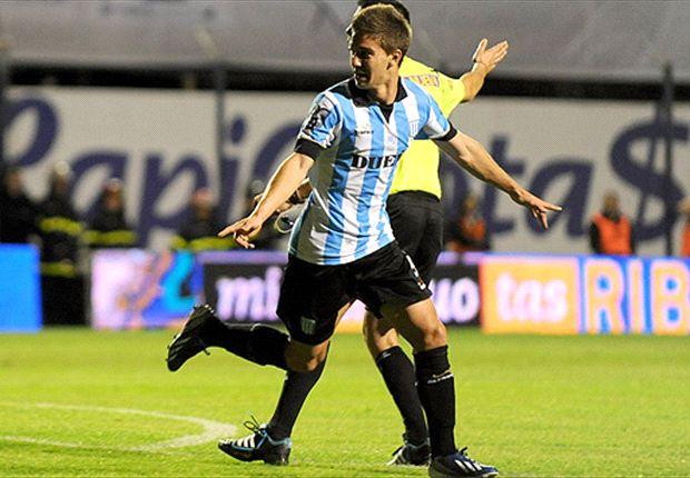 Luciano Vietto marcó dos goles contra Gimnasia y fue uno de los mejores de la fecha.