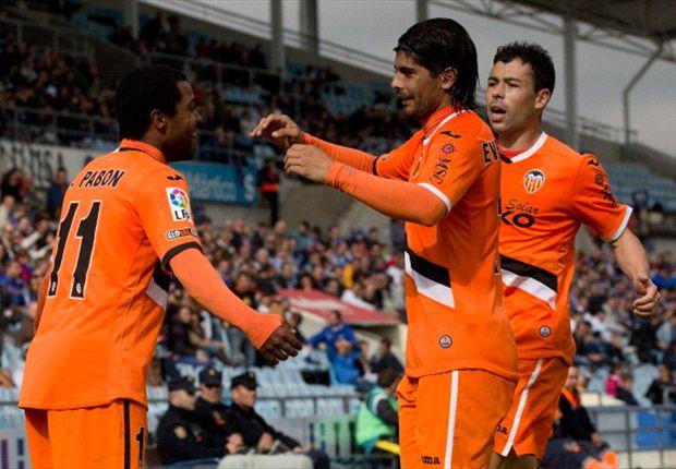 Menang Atas Getafe, Valencia Akhiri Rekor Buruk