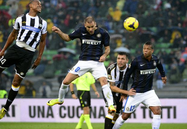 Udinese 0-3 Inter: Palacio leads Mazzarri's men to victory
