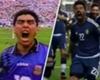 """El """"homenaje"""" de Lavezzi a Maradona"""