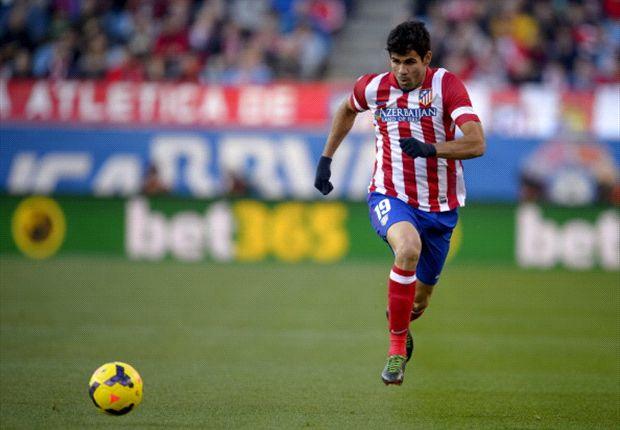 Hat jetzt in zwölf Spielen bereits 13 Treffer erzielt: Diego Costa