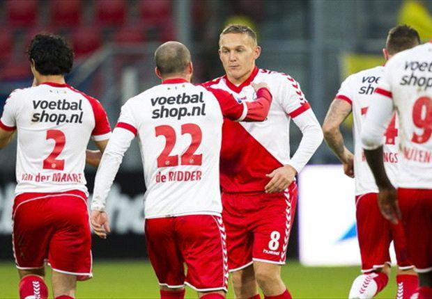 Jens Toornstra stond aan de basis van de 2-0 zege op Heerenveen