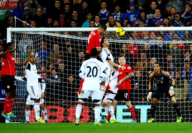 Cardiff City 1-0 Swansea City: Caulker header settles south Wales derby
