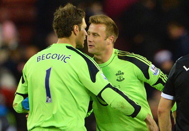 Fonte praises Southampton character after 'strange' Begovic goal