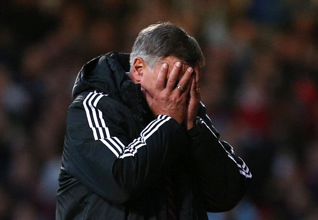 West Ham boss Allardyce fumes at 'irresponsible' Nolan