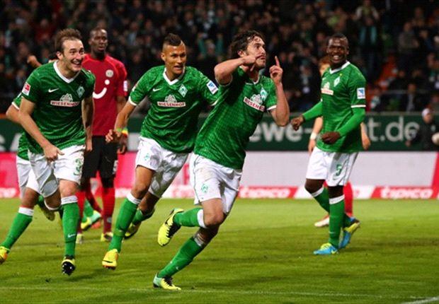 Santiago Garcia erlöste Werder Bremen im Spiel gegen Hannover 96