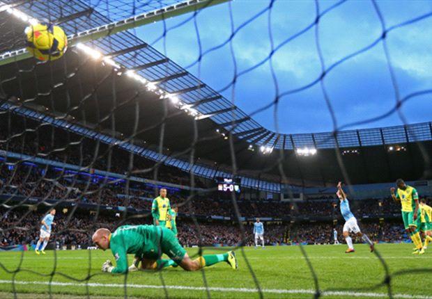 Sergio Agüero war gegen Norwich City der überragende Mann auf dem Feld