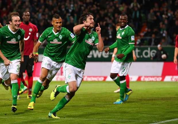 Bundesliga: Bremen claim thrilling Hannover win