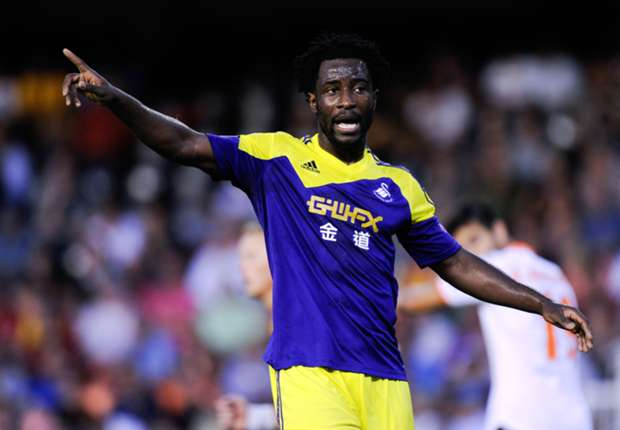 Swansea letting Bony adapt to the Premier League, says Laudrup